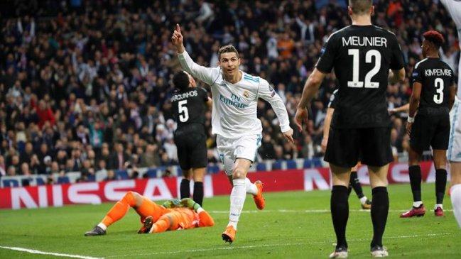 8236995d196f9 Foto  EFE Real Madrid celebró una apasionante remontada sobre PSG y tomó  ventaja en la Champions League