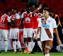 Santiago Wanderers fue eliminado de la Copa Libertadores al caer ante Santa Fe