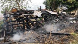 """""""En el origen del fuego no se descarta la intervención de terceros"""", informó Bomberos."""