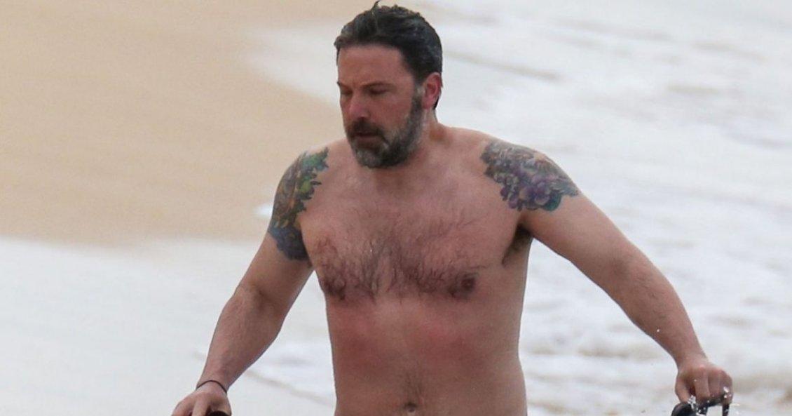 El tremendo tatuaje que reveló Ben Affleck