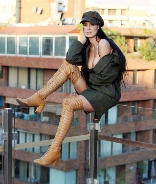Fotos Adriana Barrientos Asustó A Sus Seguidores Por Foto En Altura