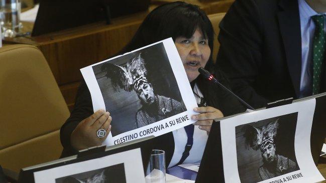 Diputada responsabilizó al Gobierno por posible muerte de Celestino Córdova