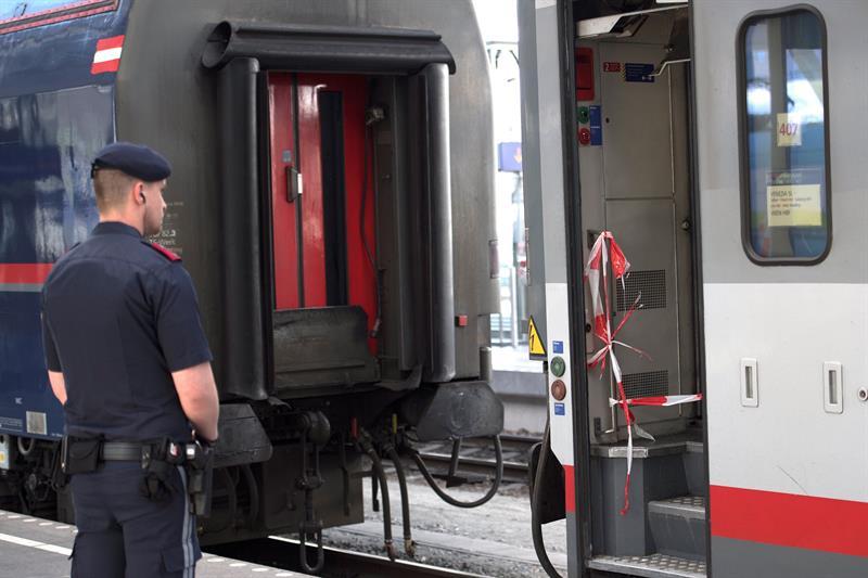 Varios heridos en accidente de tren en Austria