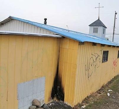 Magallanes: Adolescente fue detenido tras intentar quemar Parroquia Padre Pío
