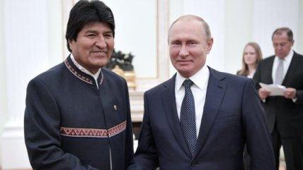 Evo Morales tras reunión con Putin: Bolivia y Rusia son aliados y comparten valores