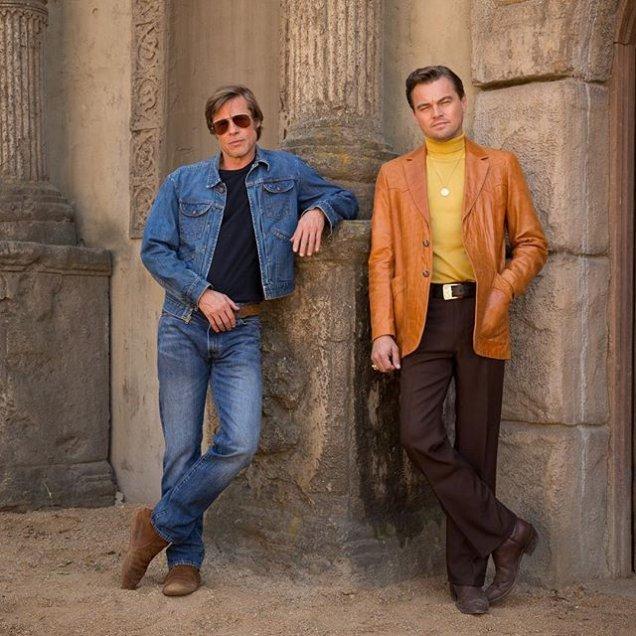 Instagram: Leonardo DiCaprio y Brad Pitt juntos en nuevo filme de Tarantino