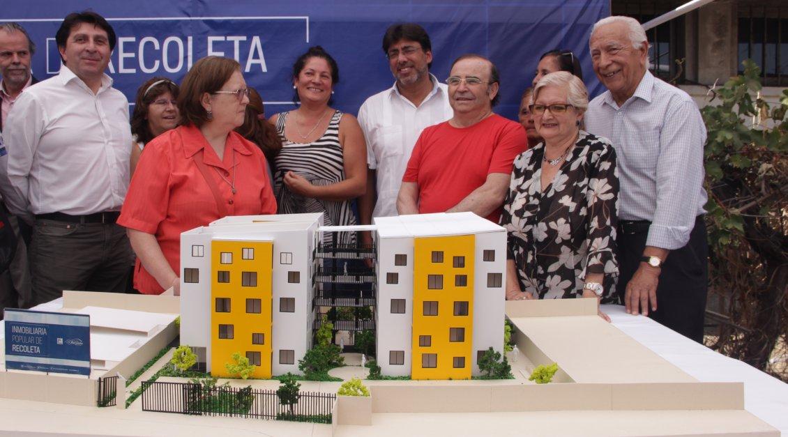 Recoleta adjudica la construcci n para el primer edificio for Inmobiliaria popular