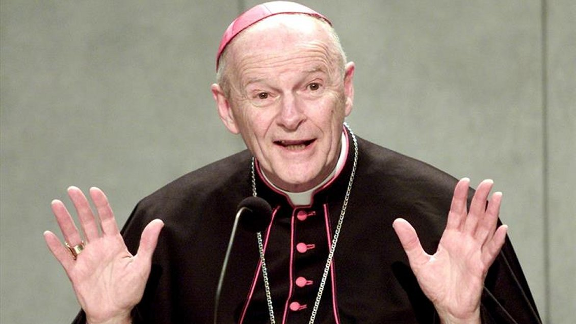 Resultado de imagen de cardenal mc carrick