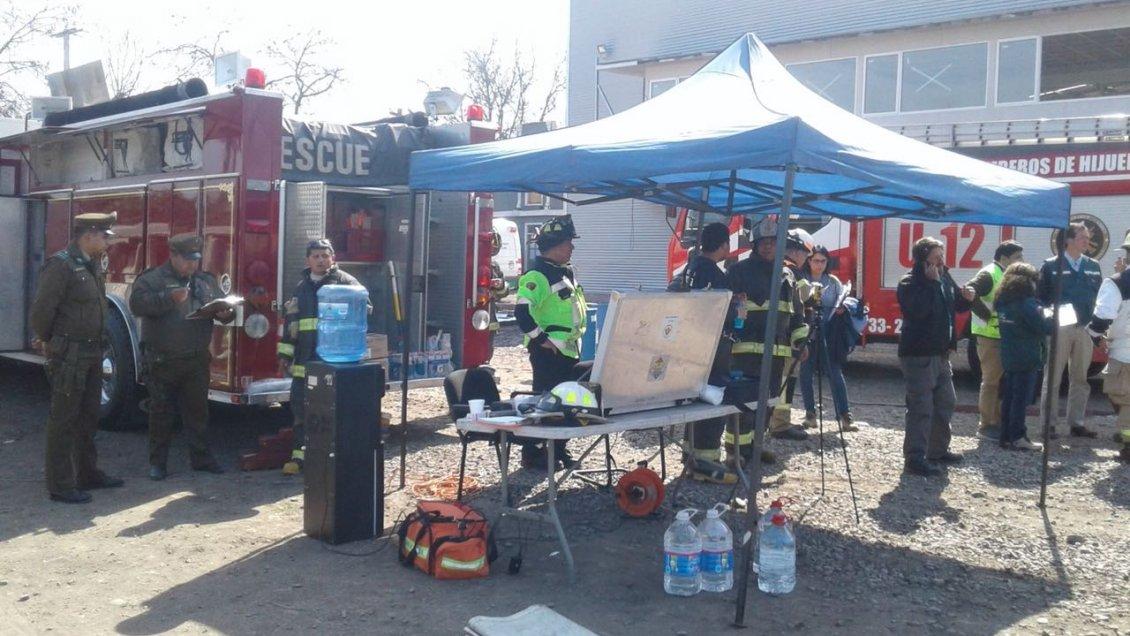 Fuga de cido n trico oblig a evacuaci n de 850 for Vivero hijuelas