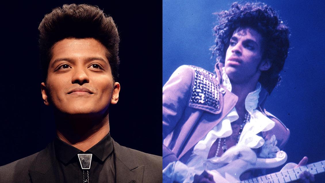 Bruno Mars negocia para interpretar a Prince en nueva película de Netflix
