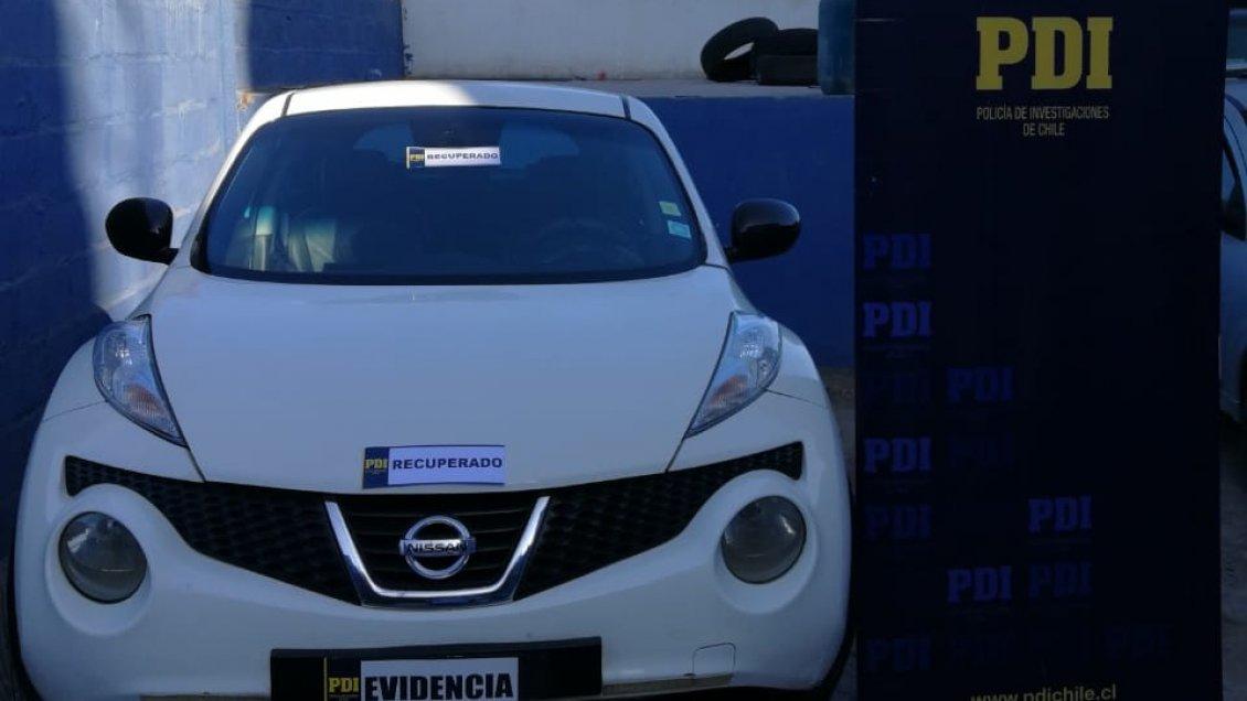 Recuperan En Iquique Un Vehiculo Robado En 2014 En La Pintana