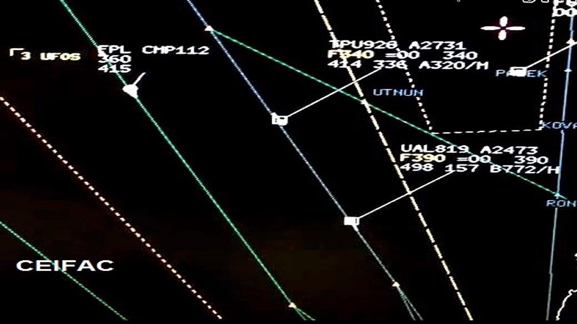 Seis aviones comerciales avistaron ovnis, en simultáneo, en Antofagasta