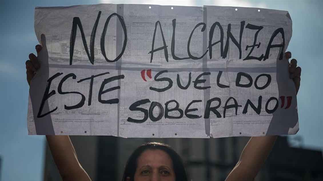 Resultado de imagen para salario minimo que no alcanzan en venezuela