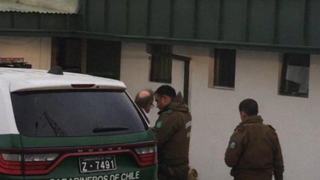 Mauricio Pesutic es detenido tras provocar destrozos en un café de Magallanes