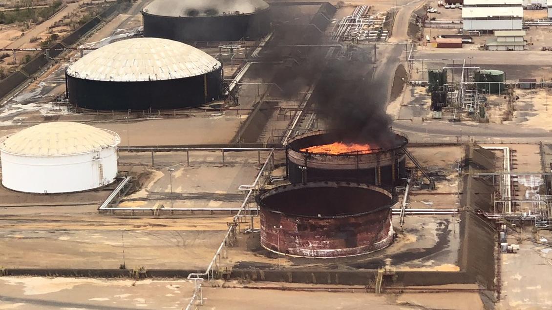 Se registró explosión en instalación de petrolera Pdvsa en Venezuela