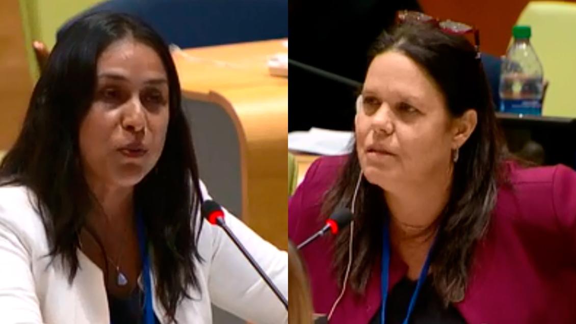 Diputada RN en ONU Mujeres: Soy