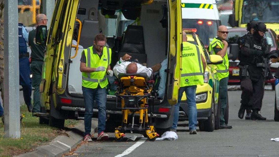 Video Del Ataque En Nueva Zelanda Image: Fatales Ataques Terroristas Contra Dos Mezquitas En Nueva