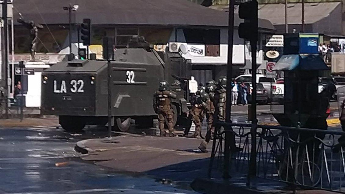 Temuco: Al menos 15 detenidos en marcha mapuche no autorizada