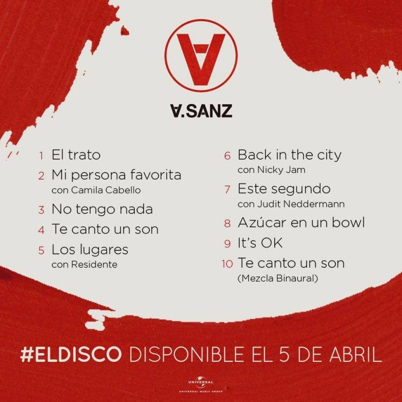 Tras cuatro años de ausencia, Alejandro Sanz lanza nuevo disco