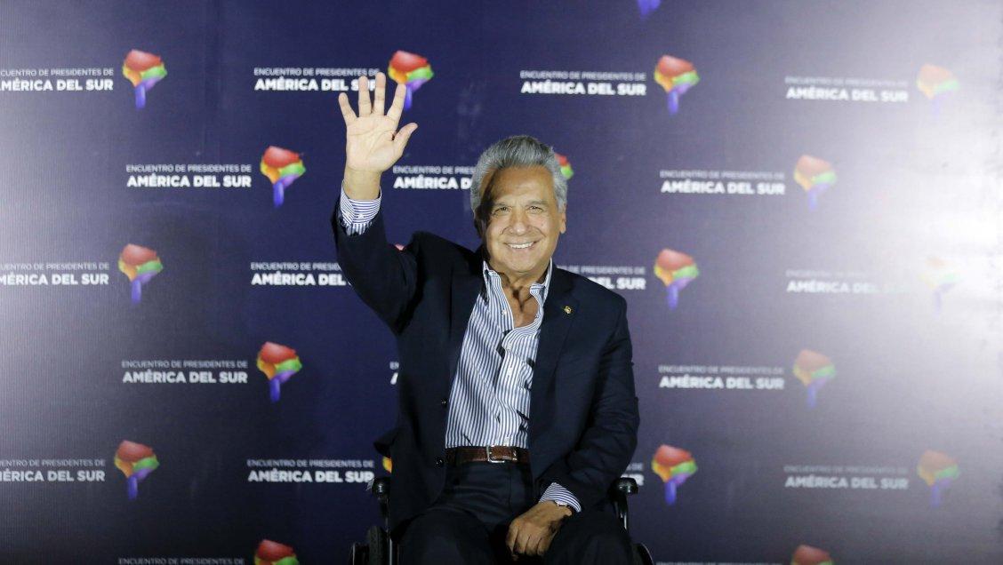 Presidente de Ecuador llegó a Chile: Unasur desapareció hace muchísimo rato