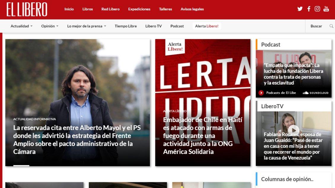 Büchi y sus socios inyectaron 400 millones a portal El Líbero