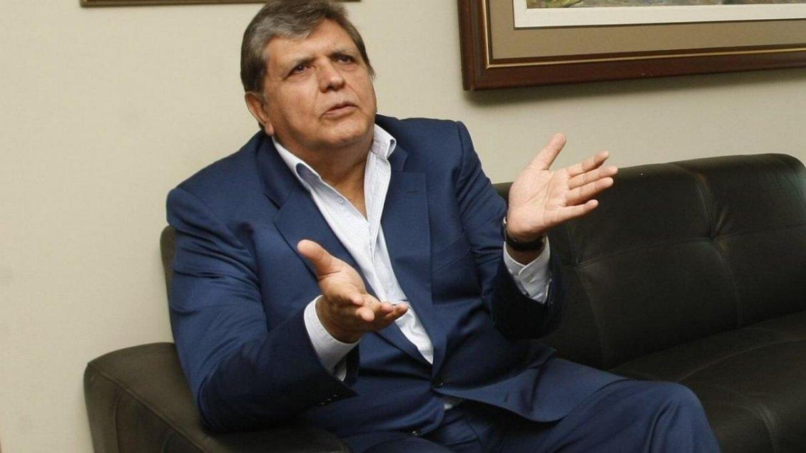 Alan García se disparó al momento de ser detenido en Perú