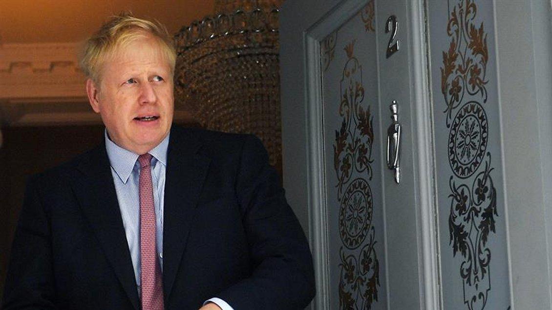 Boris Johnson lanzó oficialmente su campaña para suceder a May