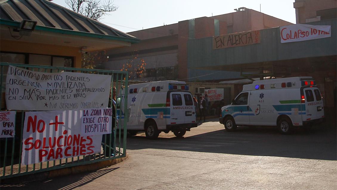 Crisis en el San José: Comienza la instalación de hospital de campaña