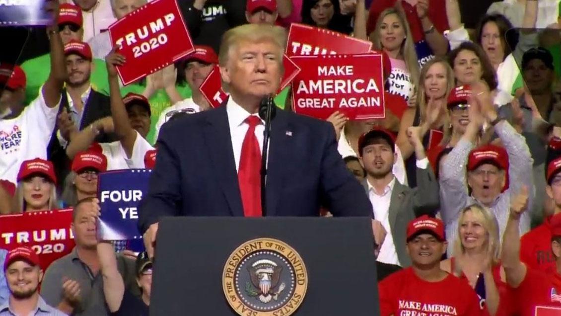 Trump convoca un
