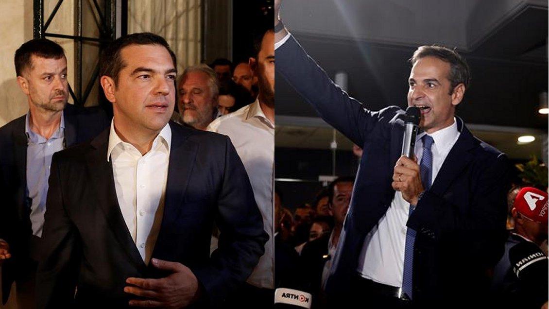 Elecciones en Grecia: El conservador Mitsotakis venció al primer ministro Tsipras