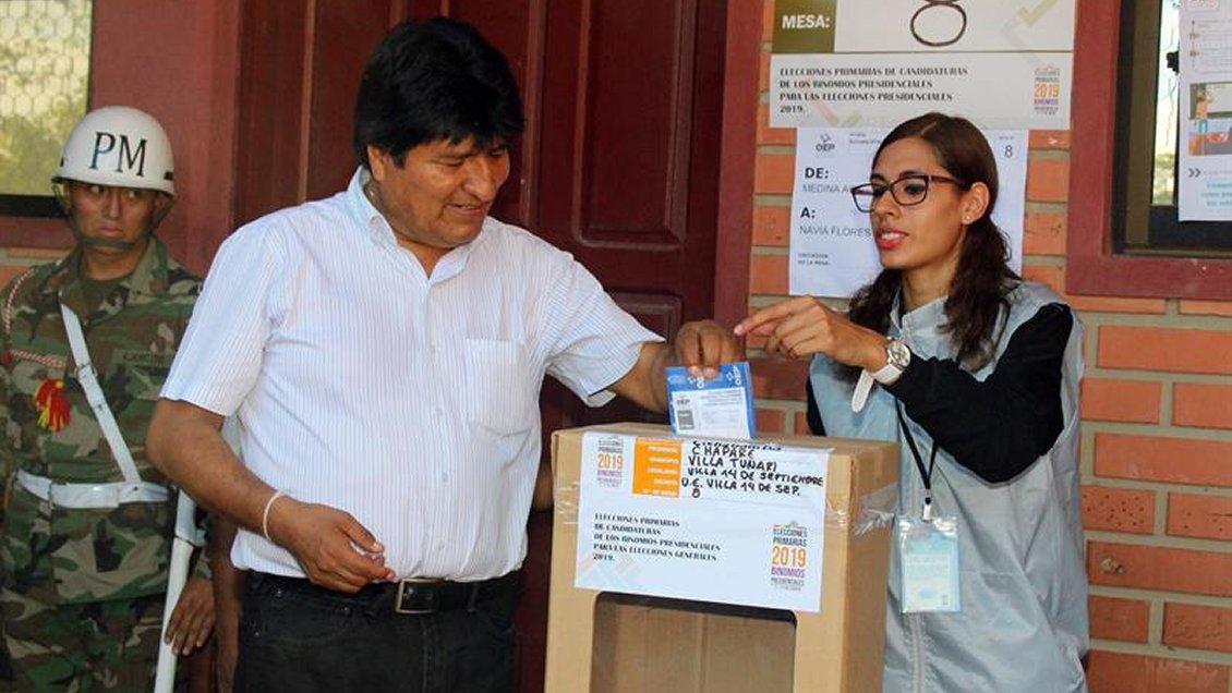 Oposición boliviana anuncia huelga nacional contra la candidatura de Evo Morales