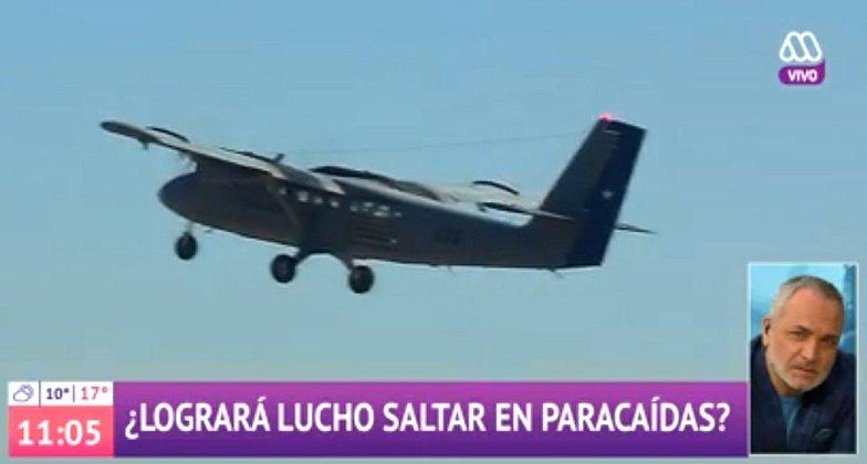 Contraloría investigará salto en paracaídas de Karol Dance y Luis Jara