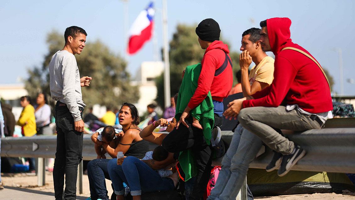 Alto comisionado ONU: Sin solución política en Venezuela, el flujo migratorio continuará