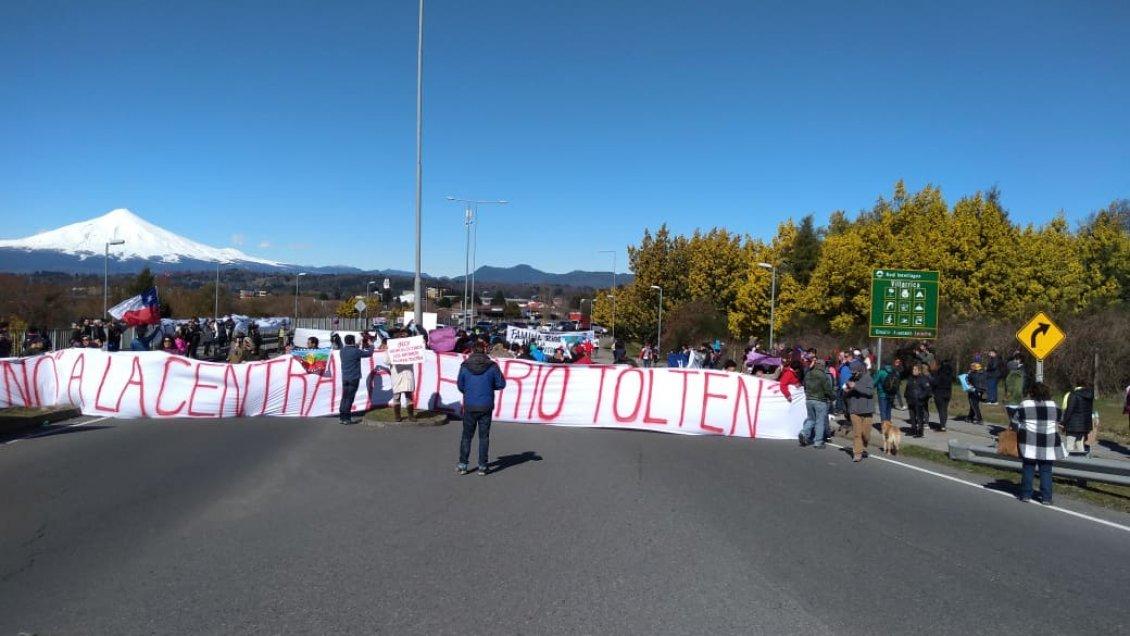 Comisión Ambiental rechaza proyecto hidroeléctrico sobre el río Toltén