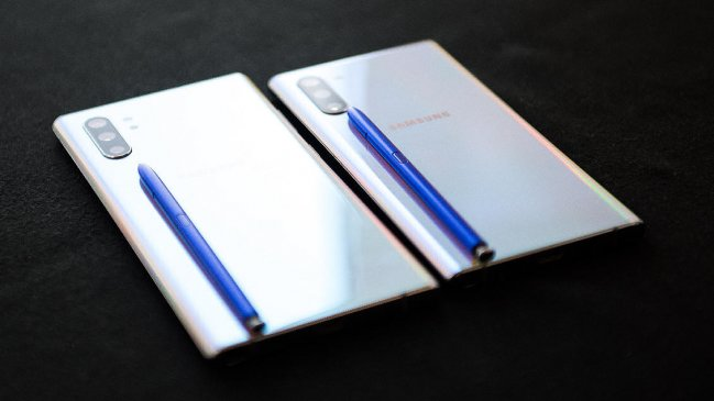 Llegan a Chile los Samsung Galaxy Note10 y Note10+