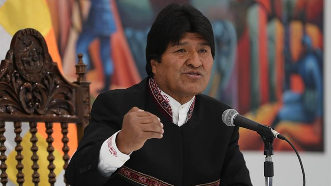 Morales invitó al G7 a Bolivia para cumplir promesas de ayuda ante incendios