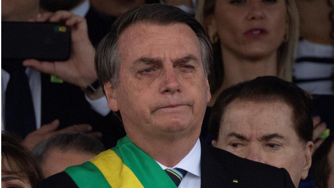Bolsonaro fue operado este domingo y pasó cinco horas en el quirófano