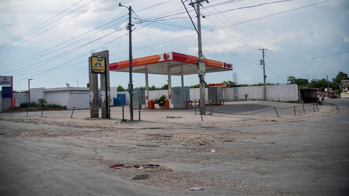 Huelga paraliza Haití por escasez de combustible