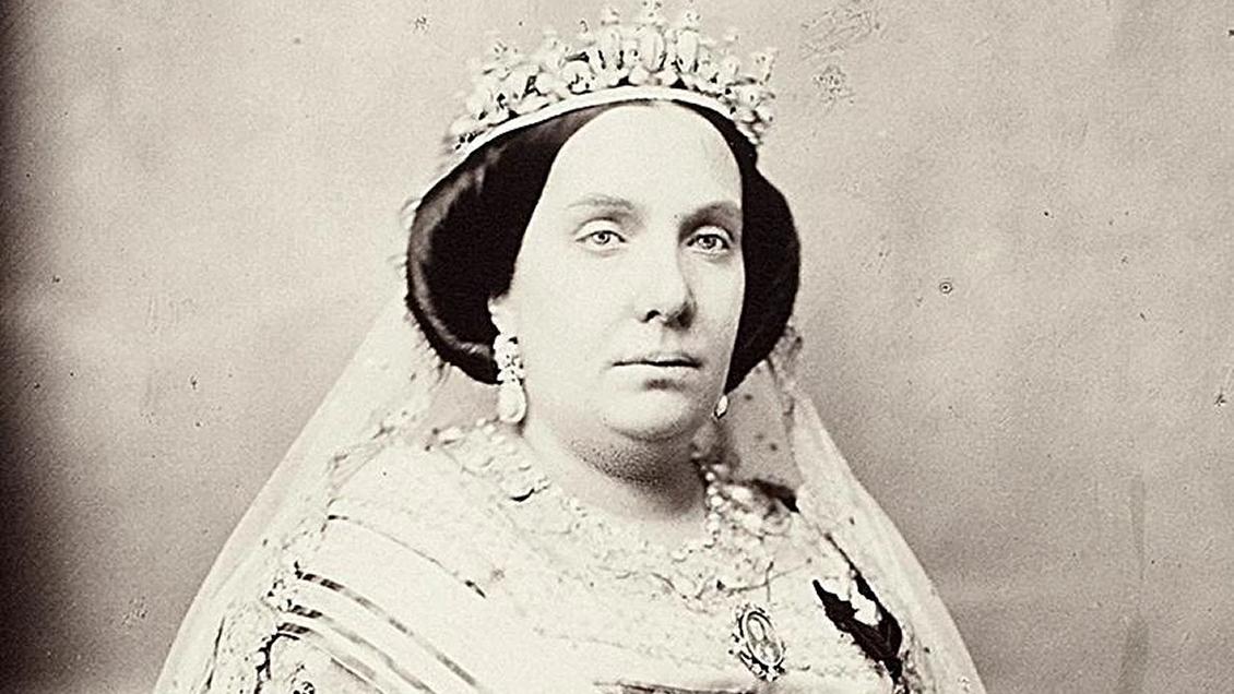Gobierno iraní retiró litografía de Isabel II donde aparece con escote