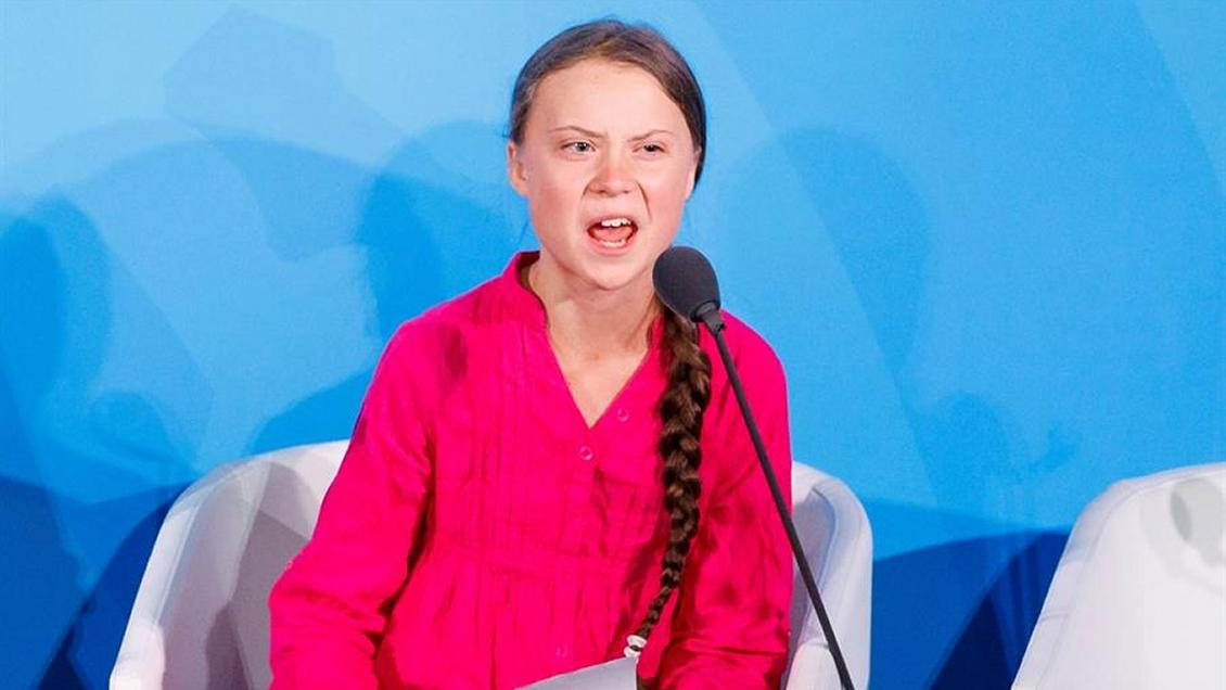 Greta Thunberg a líderes mundiales: