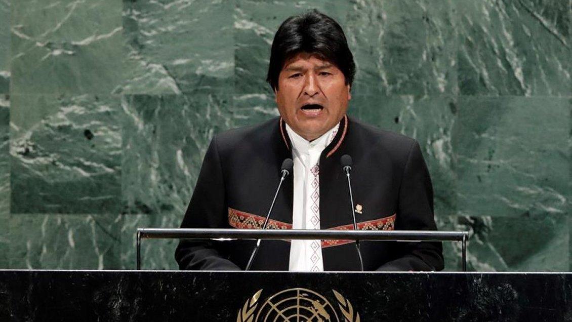 Evo Morales en la ONU: Bolivia no renunciará a su derecho de acceder soberanamente al Océano Pacífico