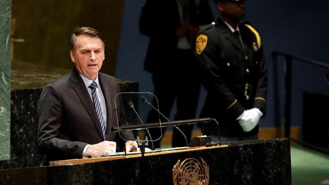 Bolsonaro en la ONU: Es una falacia decir que la Amazonía es patrimonio de la humanidad