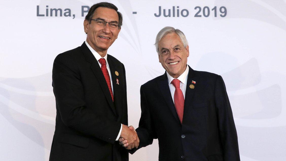 Piñera anunció que viajará a Perú en medio de crisis política en ese país