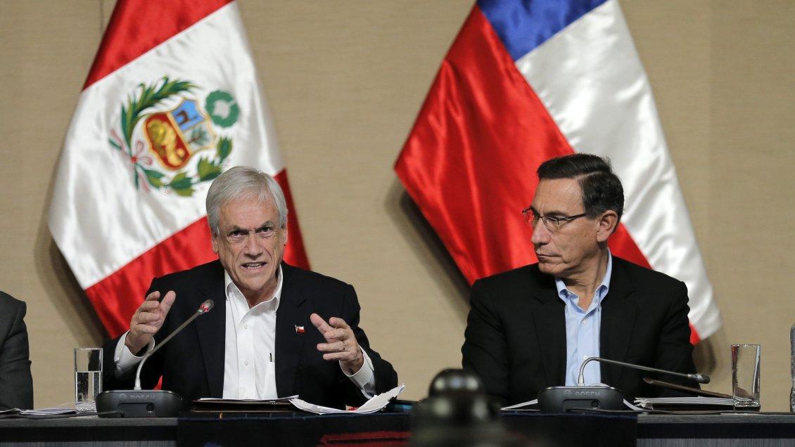 Piñera en Perú: