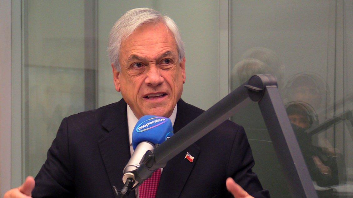 Las frases más destacadas del Presidente Piñera en Cooperativa