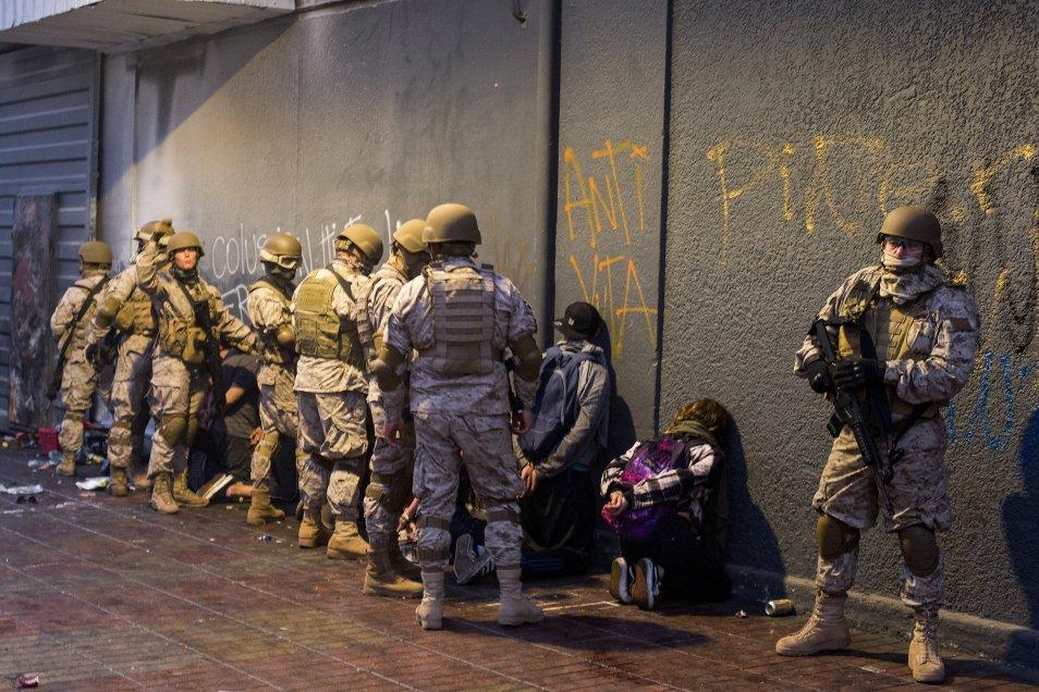 Fotos] Jornada de saqueos, detenciones y manifestaciones en ...