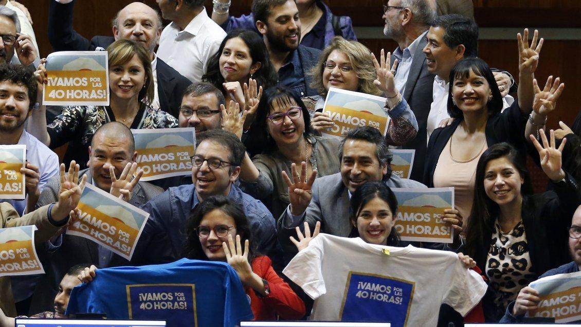 Cámara de Diputados aprobó proyecto que rebaja jornada laboral a 40 horas semanales