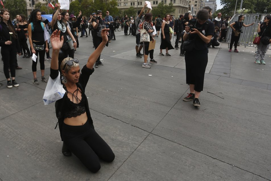 Fotos La Masiva Marcha De Las Mujeres De Luto Por La
