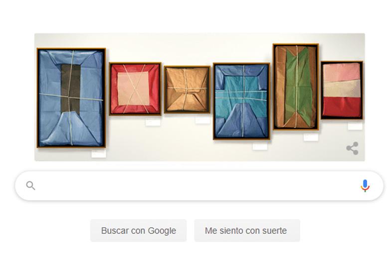 Google dedica su Doodle al pintor Claudio Bravo Camus