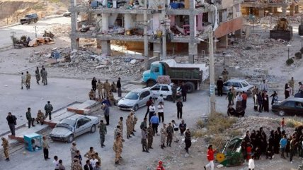 Resultado de imagen para Sismo de magnitud 5,9 deja cinco muertos y 300 heridos en Irán